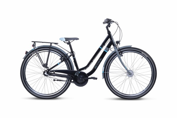 S´COOL chiX twin 26 alloy 3-speed black/blue
