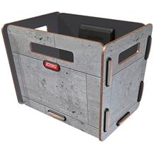 Rixen & Kaul KLICKfix Radkiste 1 for handlebars - Beton