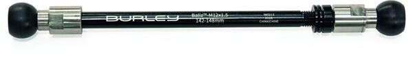 Thru axle Burley Coho Ballz M12 X 1.5, 142-148mm