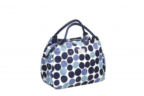 New Looxs Fahrradtasche Tosca Gepäckträgertasche Dots Blue