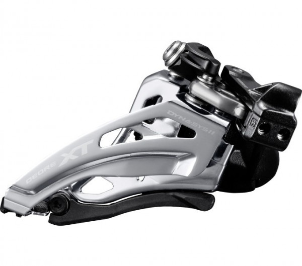 Shimano Deore XT Derailleur FD-M8020 2x11 Side-Wing, clamp deep