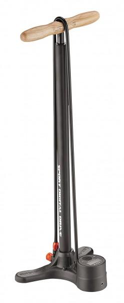 Lezyne Sport Digital Drive Stand Air Pump matte black