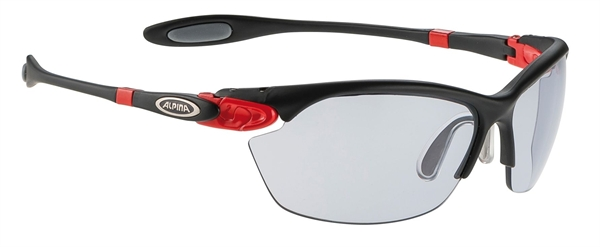 Alpina Twist Three 2.0 VL Brille black matt-red