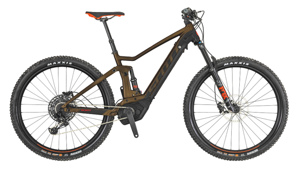 Scott Bike Strike eRide 920 brown 2019