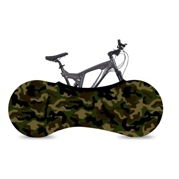 VELOSOCK Indoor Bicycle Garage Camouflage