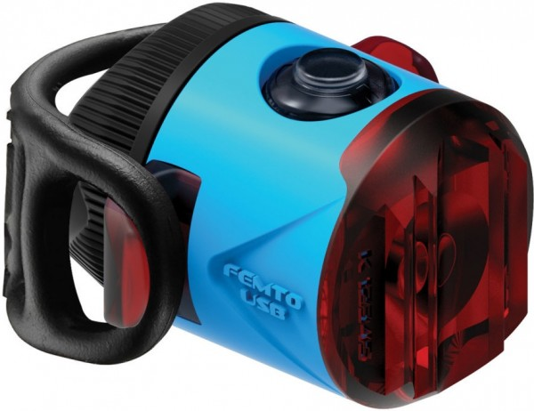 Lezyne LED Femto Drive StVZO Rücklicht Blau