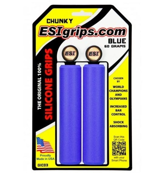 ESI Chunky blue Griffe Silikon