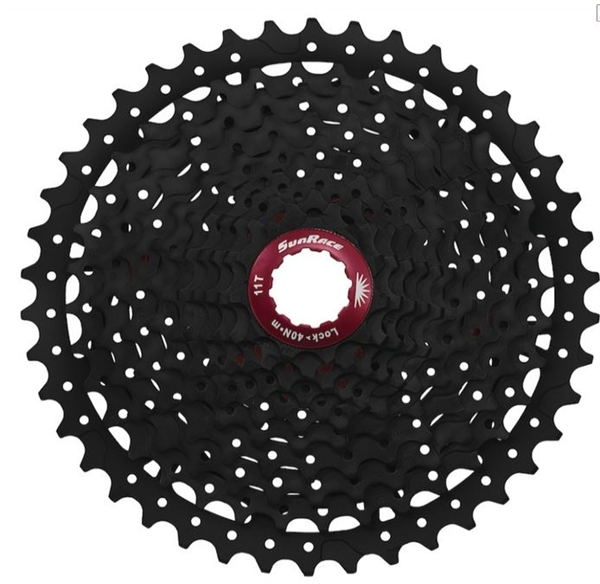 Sunrace Cassette CSMX8 11-speed 11-42 black