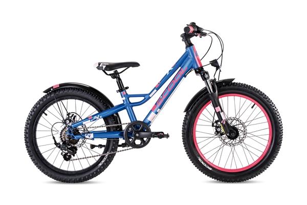 S´COOL faXe 20 alloy 7-speed blue/pink matt