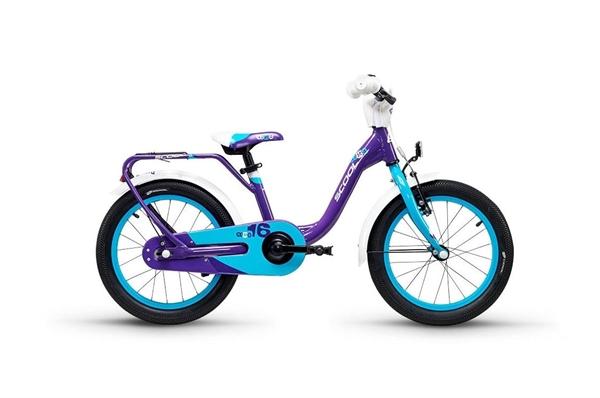 S´COOL niXe 16 Aluminium 1-speed violet/blue