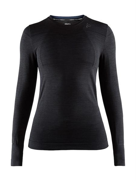 Craft Fuseknit Comfort RN LS Women black