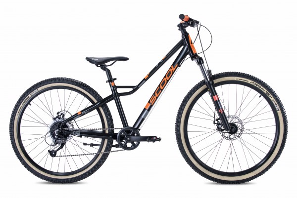 S´COOL faXe 26/27 race Aluminium 8-Gang black/orange matt