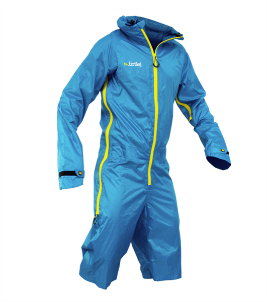 Dirtlej Dirtsuit - light Edition - blau/gelb %