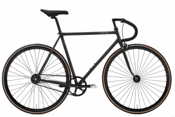 Creme Cycles Vinyl Solo singlespeed/fixed gear 55 cm black