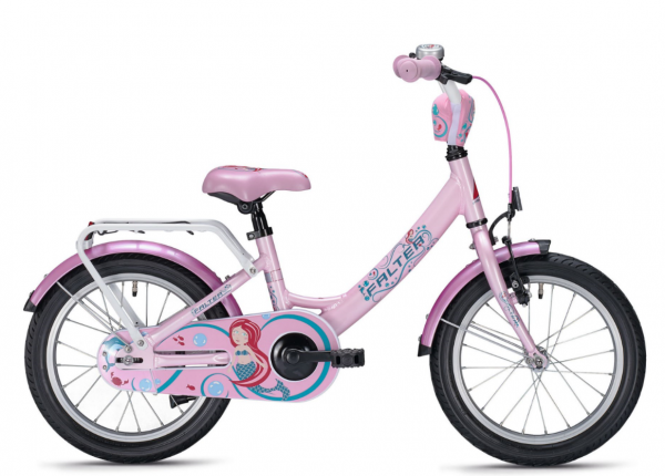 Falter Mermaid 12 Zoll wave rosa Kinderrad