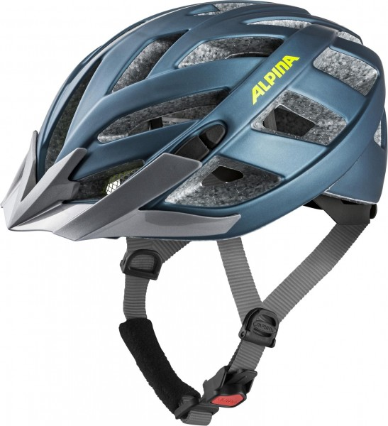 Alpina Panoma 2.0 LE Helmet blue-neon-yellow