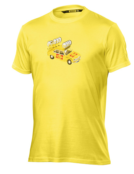 Mavic Yellow Car Tee yellow mavic