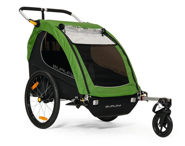 Burley Child Trailer Encore green