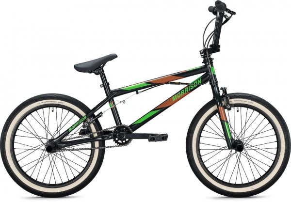 "Morrison B 20 BMX Bike 20"" black-orange 26 cm"