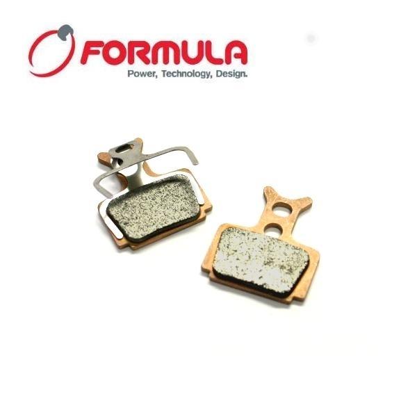 Formula Bremsbeläge Organic mit Alupl. für Formula RX/Mega/TheOne/R1/R1R/Oval