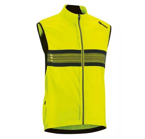 Gonso Grado Herren Windweste safety yellow