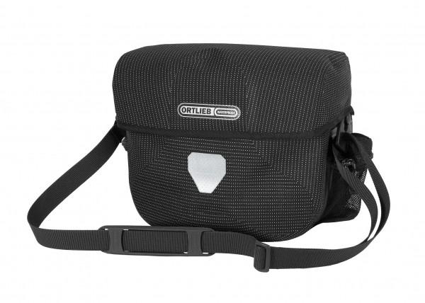 Ortlieb Ultimate Six High Visibility black reflex 7L