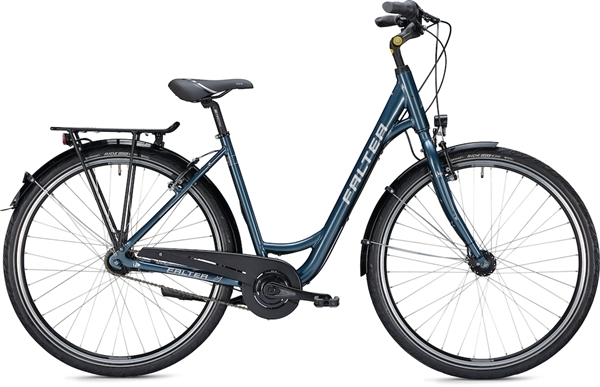 "Falter City / Urbanbike C 3.0 28 ""glossy blue"