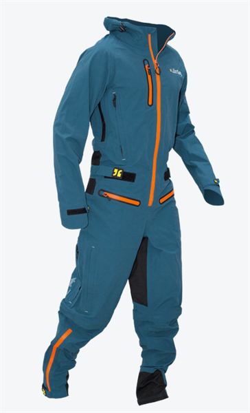 Dirtlej Core Edition saphir blau/orange