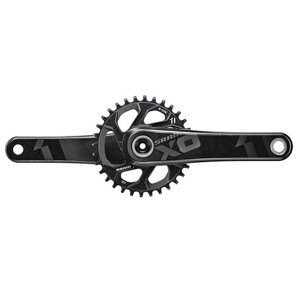 SRAM X01 Kurbel für BB30 mit 32Z Directmount Kettenblatt - schwarz