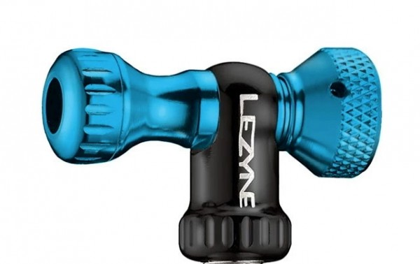 Lezyne CO2 Pumphead Control Drive CNC blue-glossy