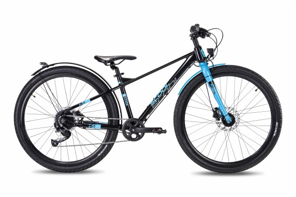 S´COOL XXLite Evo 27,5 alloy 9-speed black/cyan matt