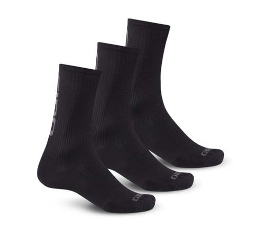 Giro HRC Team 3-PACK Socks black/dark shadow