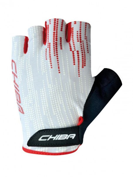 Chiba Road Plus Handschuhe weiß / rot %