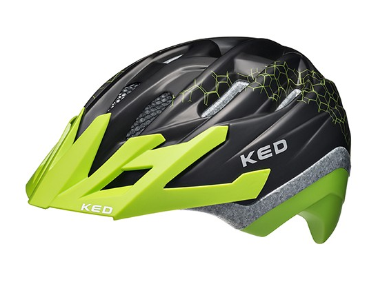 KED Dera 2 child helmet black green
