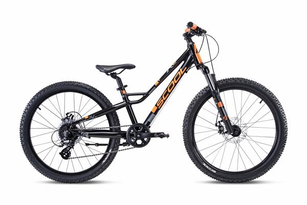 S´COOL faXe 24 race Aluminium 7-Gang black/orange matt