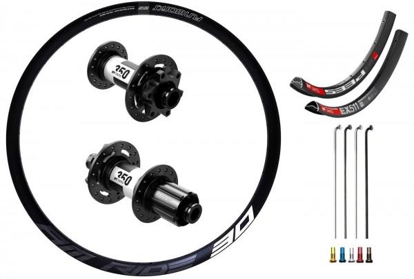 "DT Swiss 350 Boost Disc IS Custom Wheelset MTB 29"""