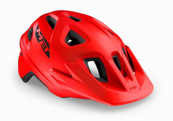 Met Echo Helmet red/matt