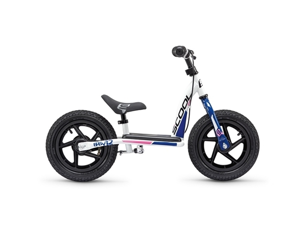 S´COOL pedeX Easy 12'' white/blue/pink