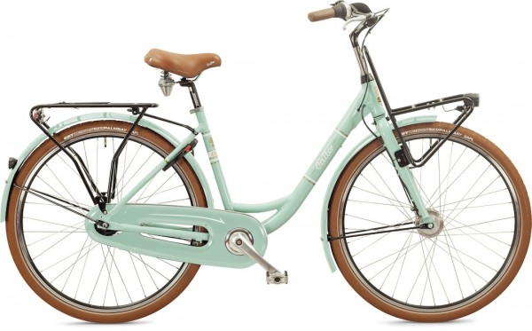 """Falter Classic Bike L 4.0 28 """"shiny turquoise"""