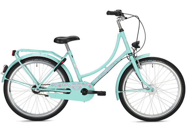Falter Holland Kids 24 inch classic turquoise Kids Bike B-Stock