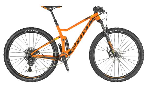 Scott Bike Spark 960 orange/schwarz 2019
