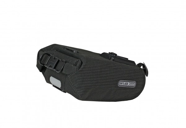 Ortlieb Saddle-Bag High Visibility black reflective
