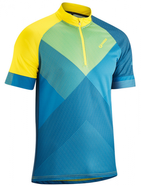 Gonso Mold Men Biketrikot half-length lemon