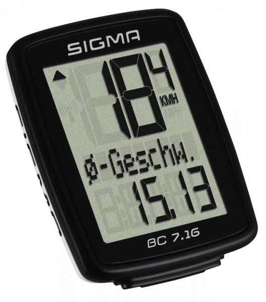 Sigma Radcomputer BC 7.16 schwarz