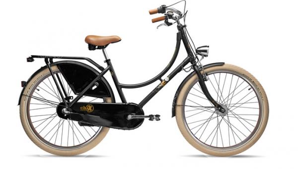 S´COOL chiX classic 26 alloy 3-speed black matt