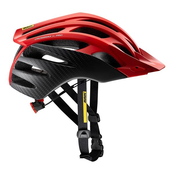 Mavic Helm Crossmax SL Pro fiery red/black