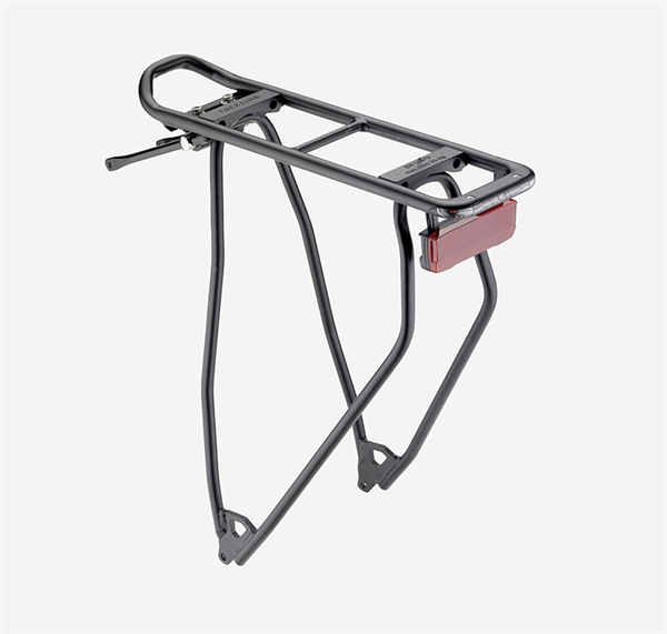 "Racktime luggage rack I-Valo Light 28 ""black Dynamo version"