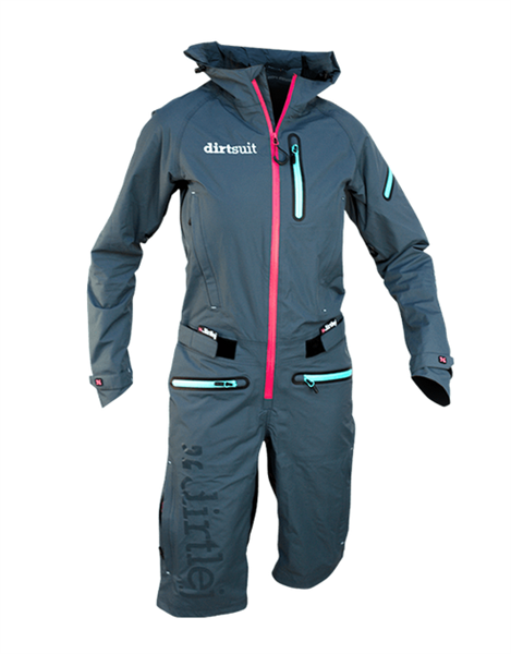 Dirtlej Dirtsuit Pro Edition Ladies azurblau/peach