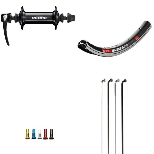 Shimano Deore Custom Vorderrad für MTB 26 Zoll