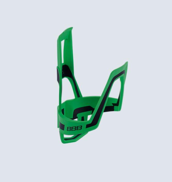 BBB Wasserflaschenhalter DualCage grün/schwarz